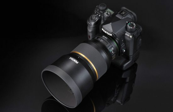 Ricoh released their new HD PENTAX-D FA★ 85mm f/1.4ED SDM AW full-frame DSLR lens for K-mount