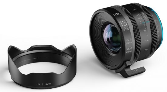Irix Cine 15mm T2.6 lens announced