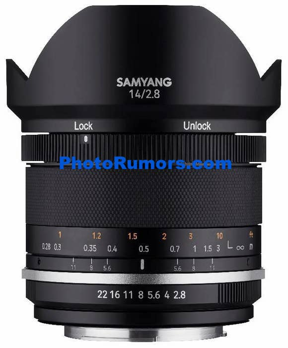 Here are the first leaked pictures of the upcoming Samyang MF 14mm f/2.8 and MF 85mm f/1.4 version II lenses