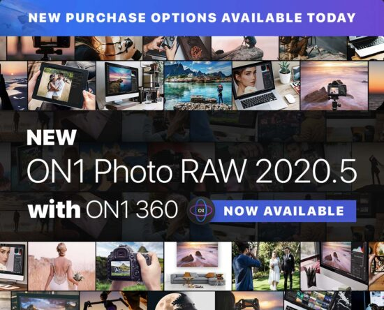 New ON1 Photo RAW 2020.5 with ON1 360 now available