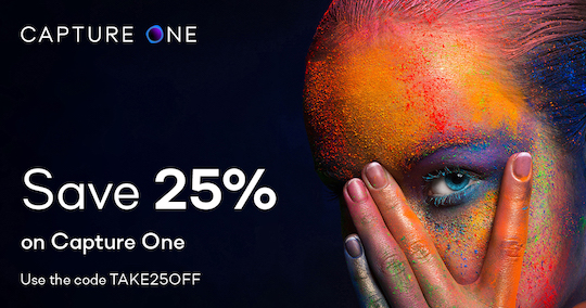Ending soon: 25% off Capture One, 30% off DxO NIK Collection and other photo editing deals