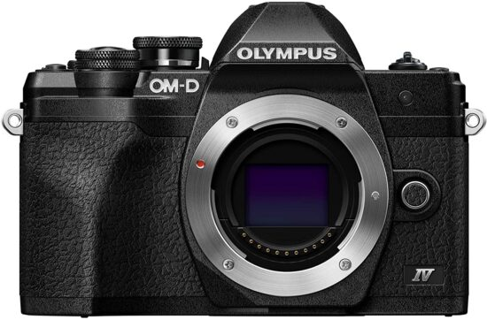The new Olympus E-M10 Mark IV camera is already listed on Amazon Canada