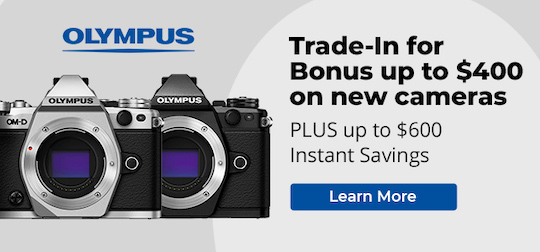 Olympus wants to attract new customers… with a new trade-in program in the US