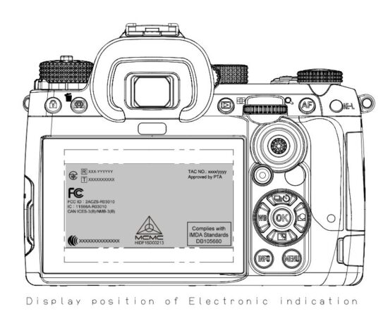 The upcoming Pentax K flagship APS-C DSLR camera has passed FCC certification