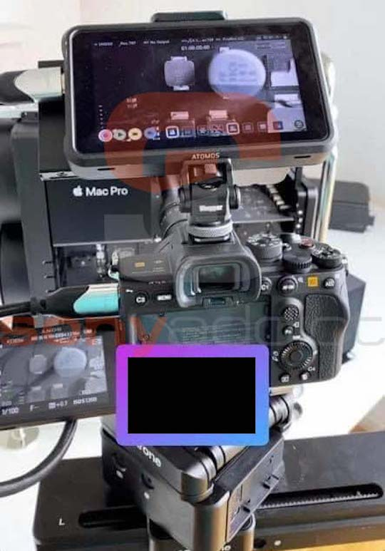 First leaked photo of the Sony Alpha a7S III mirrorless camera