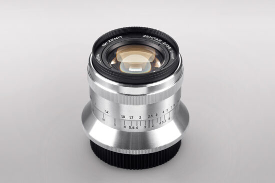 Zenit officially announced their new Zenitar 35mm f/2 lens for Sony E-mount