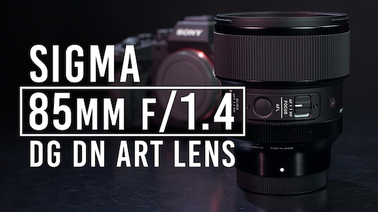 Announced: Sigma 85mm f/1.4 DG DN Art mirrorless lens for Sony E-mount and L-mount