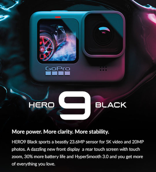 Announced: GoPro Hero 9 Black, Nikkor Z 50mm f/1.2, 14-24mm f/2.8 S, Fuji Instax Square SQ1