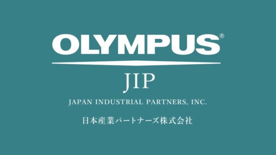 Olympus has completed the transfer to Japan Industrial Partners (JIP)