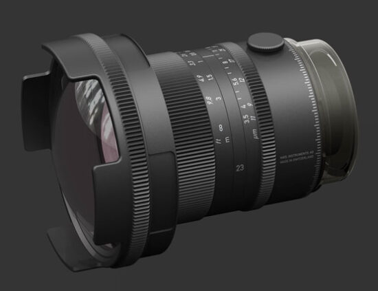 NWS Instruments announces pricing for their 23mm f/3.5 APO and 110mm f/3.2 APO lenses