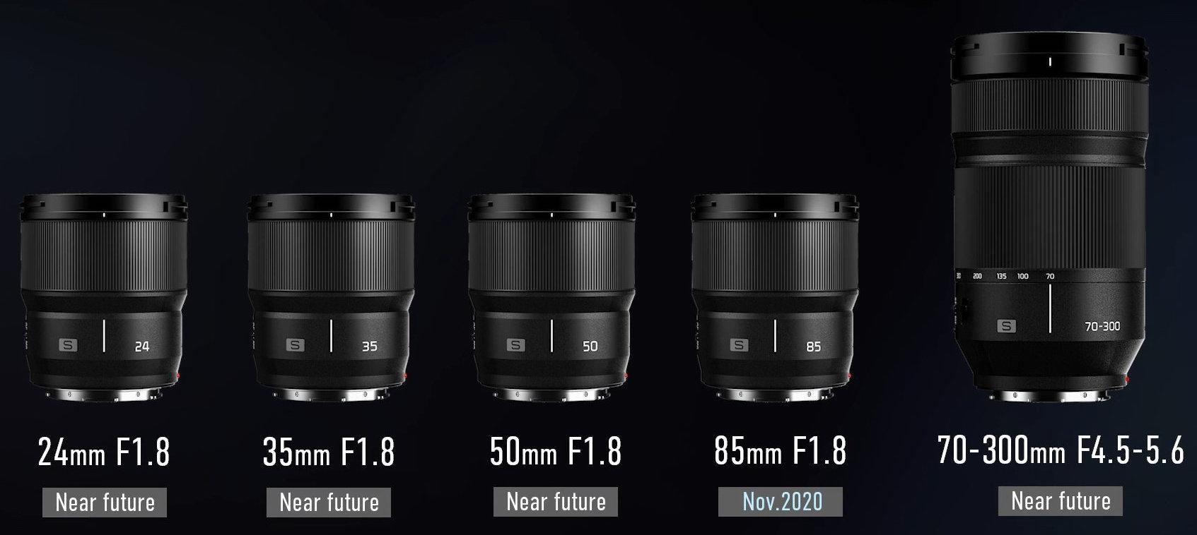 [Topic Unique] ★ Objectifs L pour boitiers Panasonic, Sigma & Leica ★  New-Panasonic-L-mount-lenses