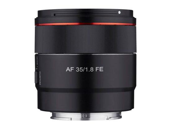 New Samyang AF 35mm f/1.8 FE lens leaked