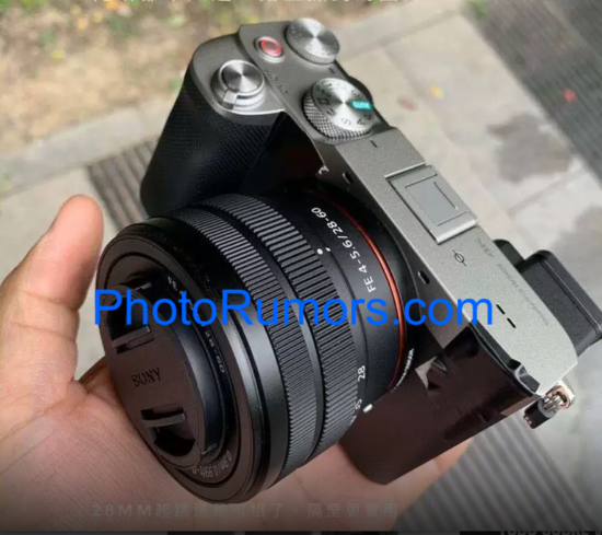 Sony α7C camera detailed specifications leaked