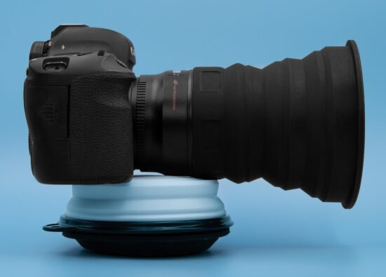 "What's new on Kickstarter: ""Universal Lens Hood"""