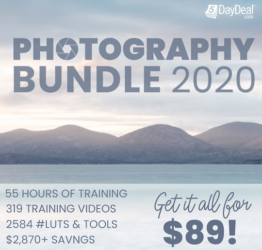 The new 5DayDeal 2020 Complete Photography Bundle is now available