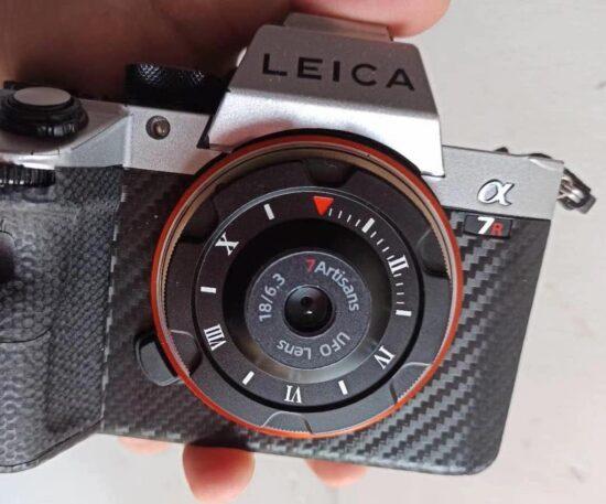 7artisans 18mm f/6.3 lens cap (UFO lens) additional information