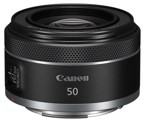This is the new Canon RF 50mm f/1.8 STM lens