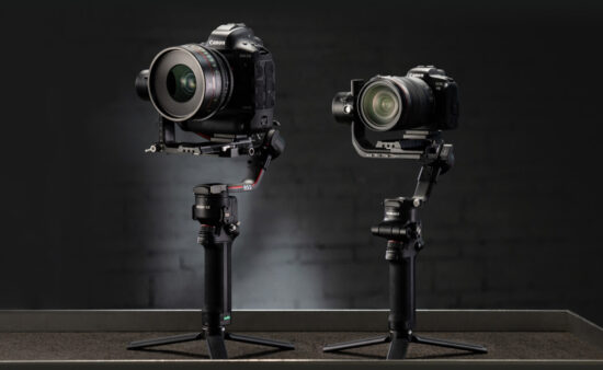 DJI RS 2 and RSC 2 professional camera stabilizers announced