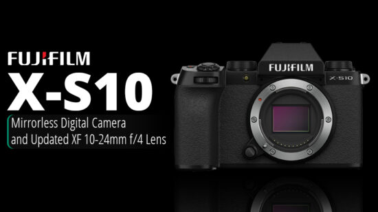 Fujifilm X-S10 camera and updated XF 10-24mm f/4 lens announced