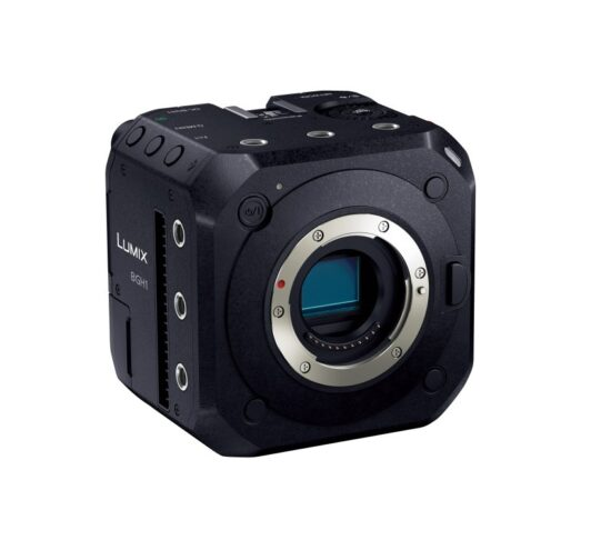 This is the Panasonic Lumix DC-BGH1 MFT camera