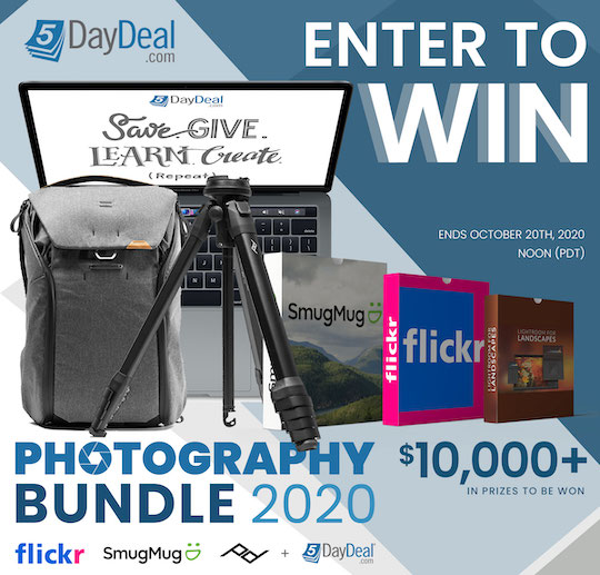 The new 5DayDeal Photography Bundle 2020 giveaway starts today
