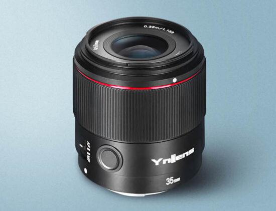 New Yongnuo YN35mm f/2S DF DSM lens for Sony E-Mount