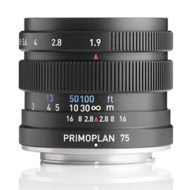 Meyer Optik Görlitz Primoplan 75mm f/1.9 II lens is now available (Canon EF, Fuji X, Leica M, M42, MFT, Nikon F, Pentax K, Sony E mounts)