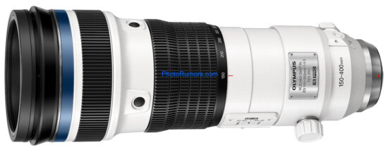 Here are the full details of the upcoming Olympus M.Zuiko Digital ED 150-400mm f/4.5 TC1.25x IS PRO lens