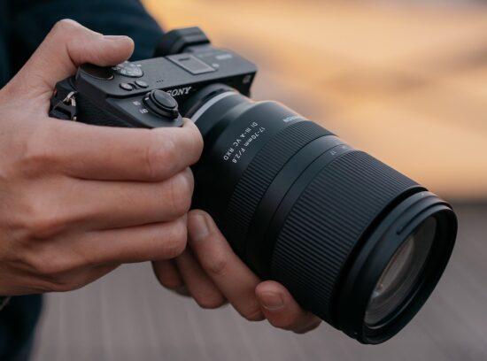 Tamron 17-70mm f/2.8 Di III-A VC RX D APS-C zoom lens for Sony E-mount