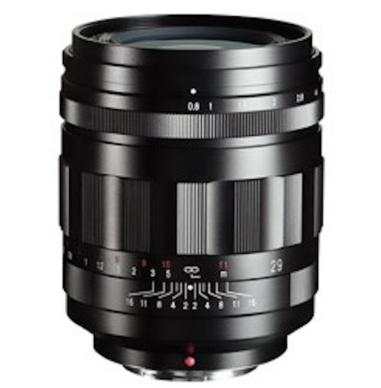 This is the new Voigtlander SUPER NOKTON 29mm f/0.8 Aspherical lens for Micro Four Thirds (announcement tomorrow)