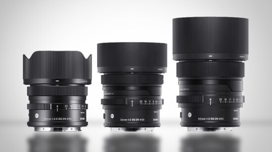 """Sigma launches three new """"I Series"""" mirrorless lenses: 24mm, 35mm, and 65mm for E-mount and L-mount"""