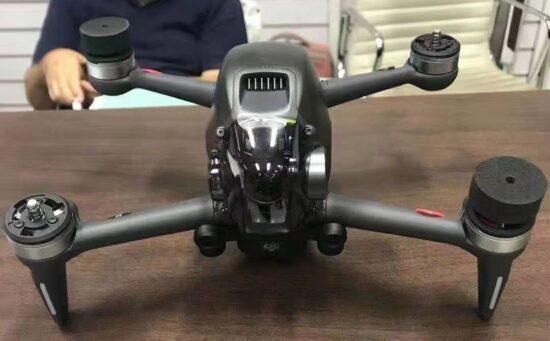 More DJI FPV combo drone leaks