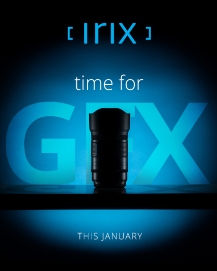 Irix teasing a new lens for Fujifilm GFX medium format cameras