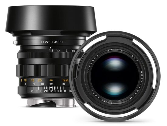 Coming soon: Leica Noctilux M 50mm f/1.2 ASPH Heritage limited edition lens