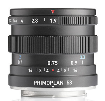 Meyer Optik Görlitz Primoplan 58 f/1.9 II lens to be released next