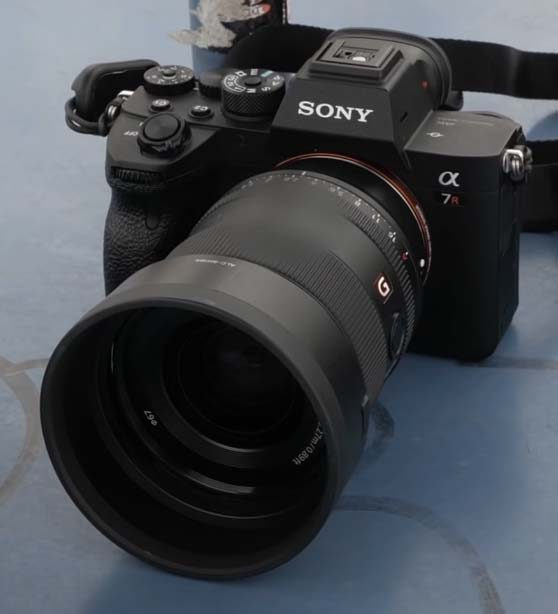 Did Dpreview just leak the previously rumored Sony FE 35mm f/1.4 GM lens (SEL35F14GM)?
