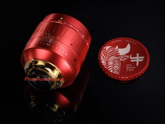 New TTartisan 50mm f/0.95 red limited edition lens to be announced soon