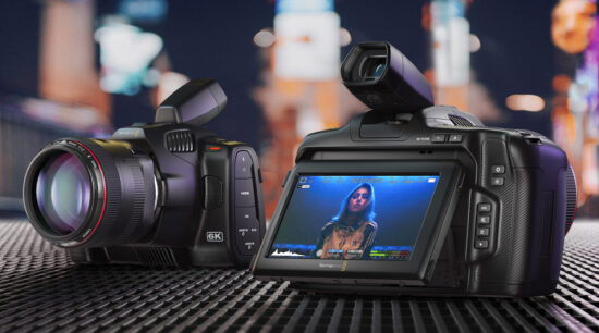 Blackmagic announced a new Pocket Cinema Camera 6K Pro with EF mount