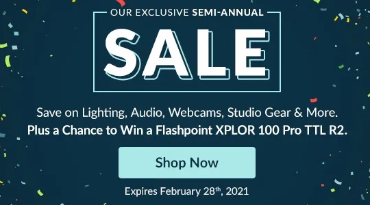 Exclusive semi-annual Lightning sale at Adorama