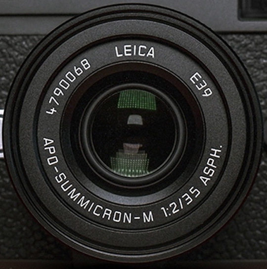 Leica Japan leaked the new APO-Summicron-M 35mm f/2 ASPH lens for M-mount