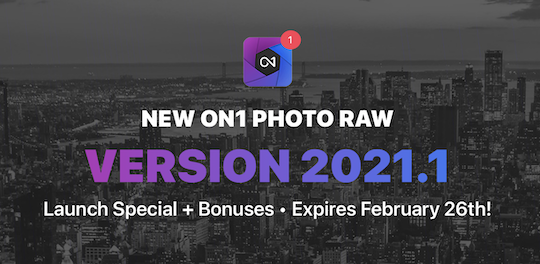 ON1 Photo RAW 2021.1 released