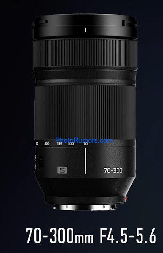 More pictures of the upcoming Panasonic Lumix S 70-300mm f/4.5-5.6 OIS mirrorless L-mount lens