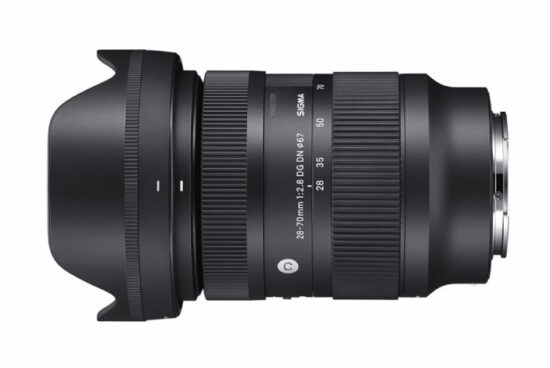First pictures of the Sigma 28-70mm f/2.8 DG DN Contemporary lens