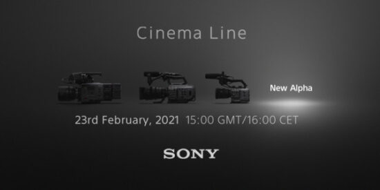 Sony FX3 Cinema E-mount camera confirmed for February 23rd announcement
