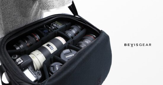This new Bevis Gear camera bag raised almost $500k on Kickstarter