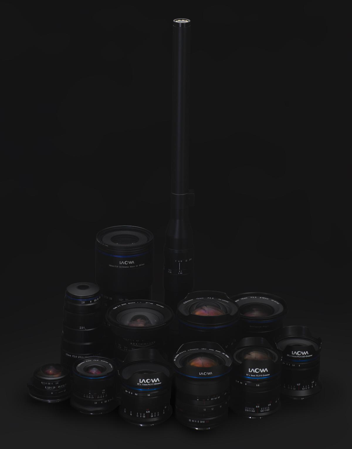 Venus Optics released four additional Laowa lenses in L-mount