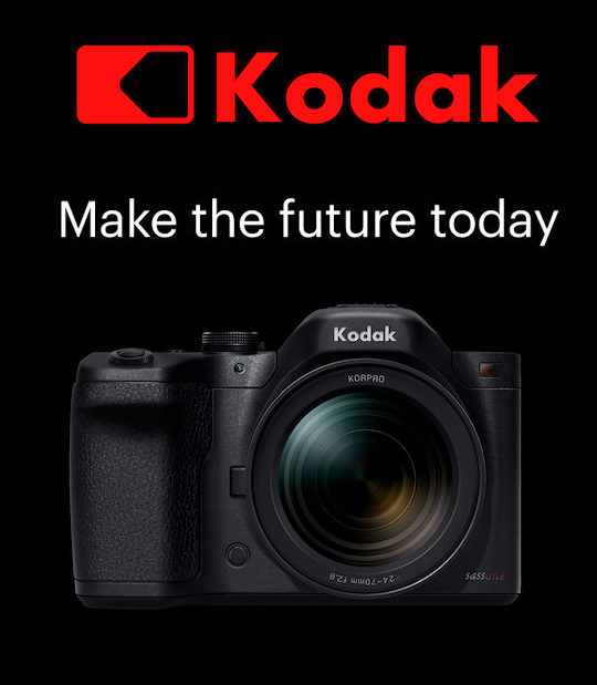 Kodak rumored to release a new mirrorless camera