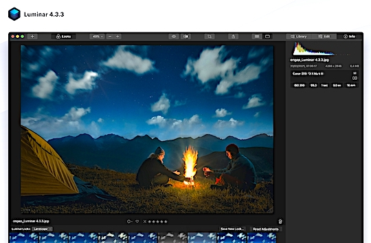 Skylum Luminar update version 4.3.3 released with support for more Canon, Fuji and Leica cameras