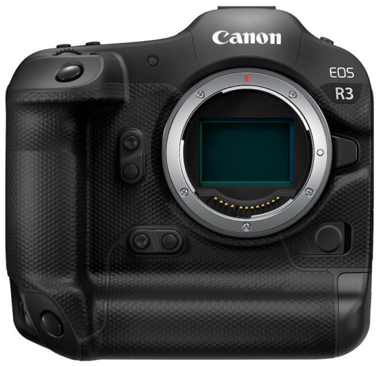 Update on the price of the Canon EOS R3 camera