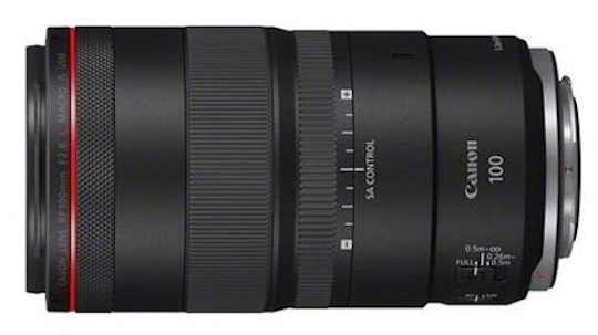 Pictures of the new Canon RF 100mm f/2.8 L MACRO IS USM lens leaked online